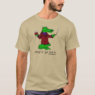 The Proper Gator w/ Text T-Shirt