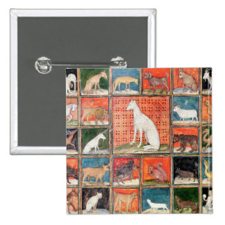 The Properties of Beasts: The Mammals 15 Cm Square Badge