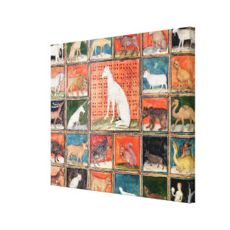 The Properties of Beasts: The Mammals Gallery Wrap Canvas