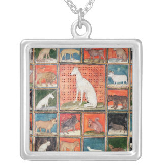 The Properties of Beasts: The Mammals Silver Plated Necklace