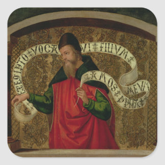 The Prophet Amos, 1535 Square Stickers