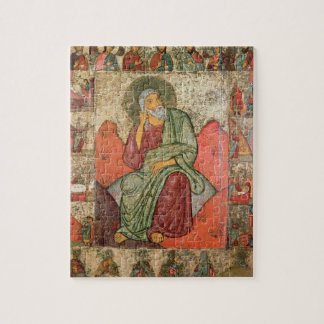 The Prophet Elijah, Pskov School (panel) Jigsaw Puzzles