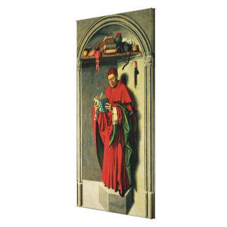 The Prophet Jeremiah, 1443-45 Canvas Print
