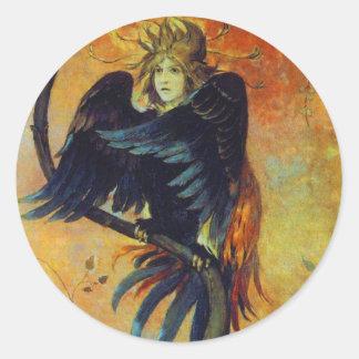 The Prophetic Bird Round Sticker