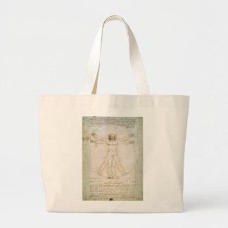 The Proportions of the human figure Large Tote Bag