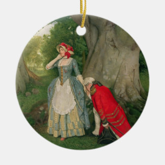 The Proposal (w/c on paper) Christmas Ornament