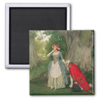 The Proposal (w/c on paper) Square Magnet