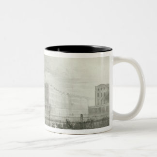 The Proposed Triumphal Arch from Portland Two-Tone Coffee Mug