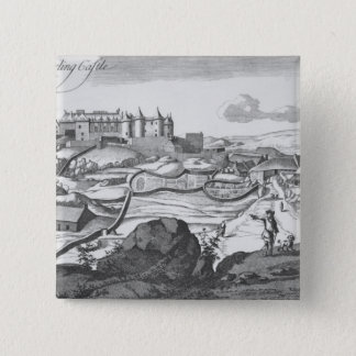The Prospect of Sterling Castle 15 Cm Square Badge
