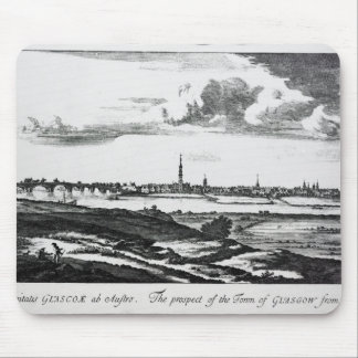 The Prospect of the Town of Glasgow Mouse Mat