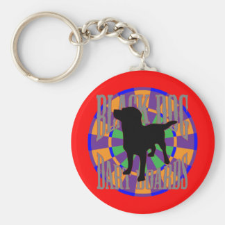 The Prospector Basic Round Button Key Ring