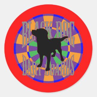 The Prospector Round Sticker