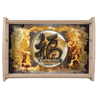 THE PROSPERITY CONNEXION : Art of Fengshui Serving Tray