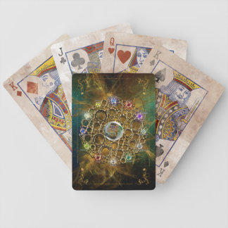 THE PROSPERITY CONNEXION : Gems of Fortune Bicycle Playing Cards