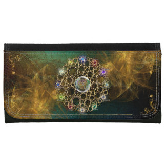 THE PROSPERITY CONNEXION : Gems of Fortune Leather Wallet