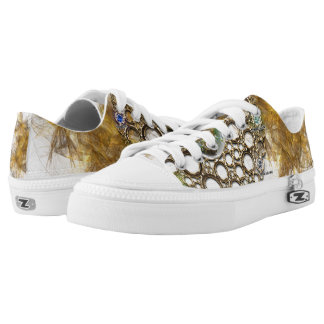 THE PROSPERITY CONNEXION : Gems of Fortune Low Tops
