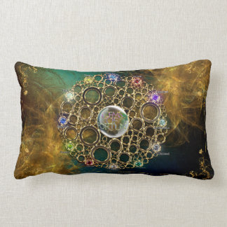 THE PROSPERITY CONNEXION : Gems of Fortune Lumbar Cushion