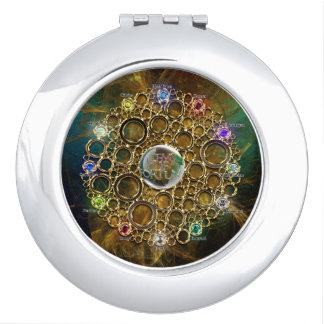THE PROSPERITY CONNEXION : Gems of Fortune Vanity Mirror