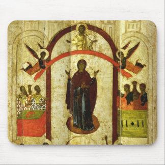 The Protection of the Theotokos  Russian icon Mouse Mat