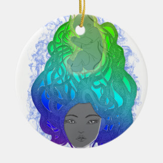 The Protective Mother Christmas Ornament