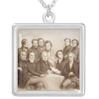 The Provisional Government Square Pendant Necklace