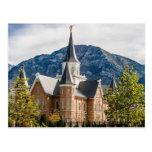 The Provo City Centre Utah LDS Temple Postcard
