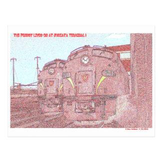 The PRR Lives on at Juniata Terminal Postcard