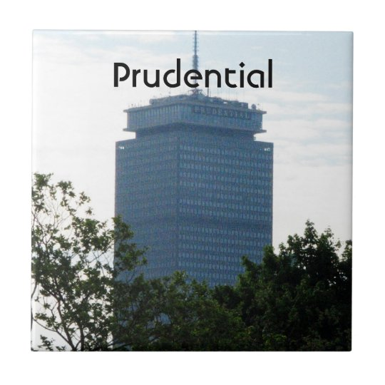 The Prudential Small Square Tile