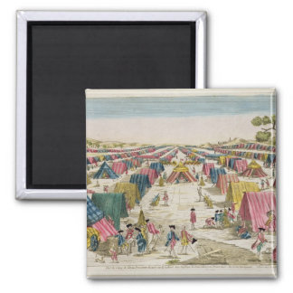 The Prussian Army Camp, Drawn from Life on the Fie Magnet