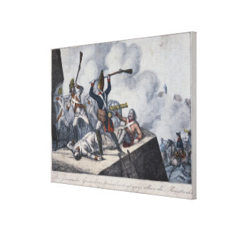 The Prussian Grenadier Canvas Print