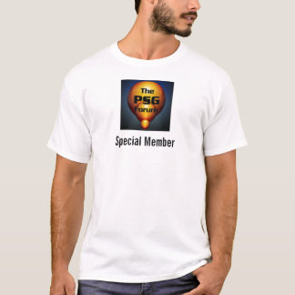 The PSG Forum - Special Member T-Shirt