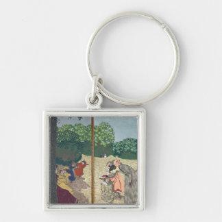 The Public Gardens Key Ring