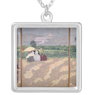 The Public Gardens Silver Plated Necklace