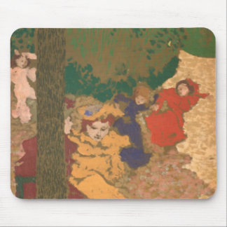 The Public Gardens: Young Girls Playing Mouse Mat