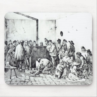The Public Warming Room in Paris, 1840 Mouse Mat
