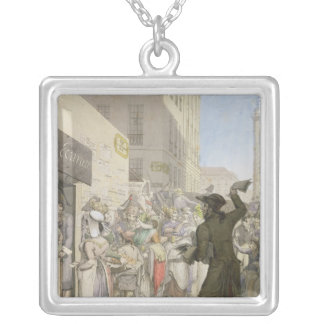 The Public Writer Silver Plated Necklace