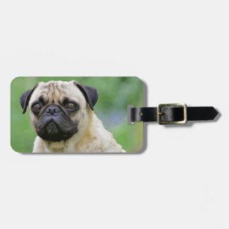 The Pug Dog Luggage Tag
