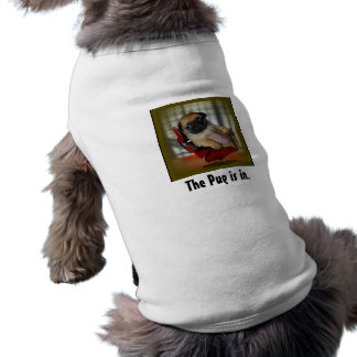 The Pug is in Pet Tshirt