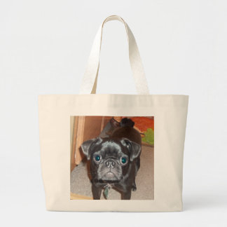 The Pug Jumbo Tote Bag