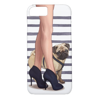 The Pug Life iPhone 8/7 Case