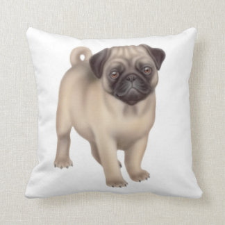 The Pug Puppy Pillow Throw Cushions