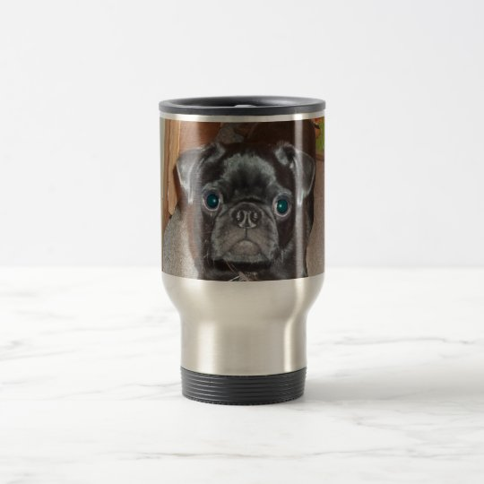 The Pug Travel Mug