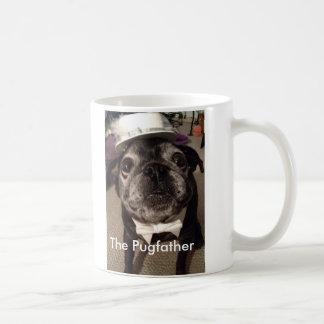The Pugfather Basic White Mug