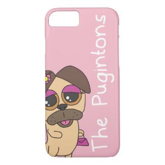 The Pugintons: Stephanie - iPhone case
