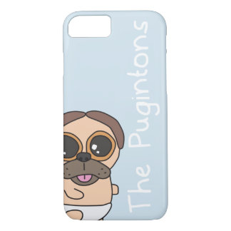 The Pugintons: Trevor - iPhone case