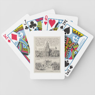 The pulling down of the Cheapside Cross by iconocl Bicycle Playing Cards