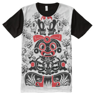 The Pulque Goddess All-Over Print T-Shirt
