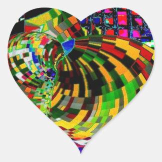The Pulsating Heart Heart Sticker