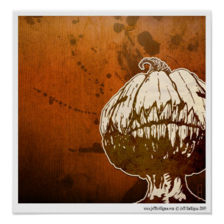 The Pumpkin King Poster