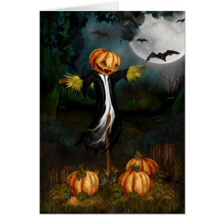 The Pumpkin Patch Halloween Card